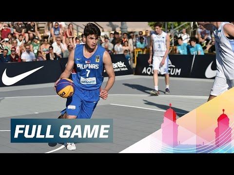 Kazakhstan v Philippines - Full Game - 2015 FIBA 3x3 U18 World Championships