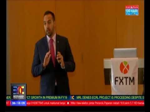 Bernama TV interview with FXTM's Jameel Ahmad | 10/07/2018