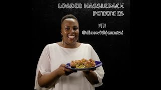 Dine With Jemutai's Loaded Hasselback Potatoes