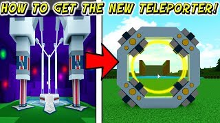 How To Get The NEW PORTAL Teleporter Block In Build A Boat For Treasure In Roblox