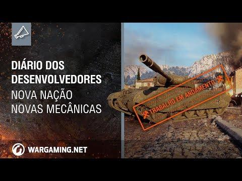 World Of Tanks - Diário dos Desenvolvedores: Nova Nação, Novas Mecânicas.