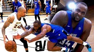 BIG BABY Risking It ALL For A Drew League W! GREAT HUSTLE in Game That Goes To FINAL SECONDS!
