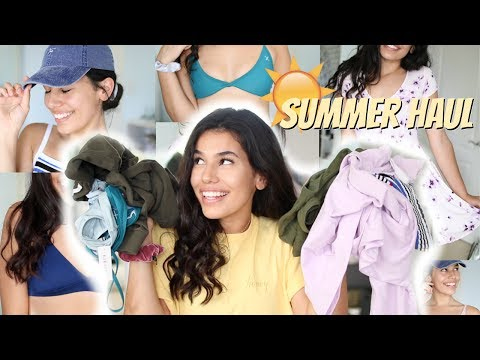 SUMMER CLOTHING TRY-ON HAUL 2017! // Bikinis, Clothes, & More