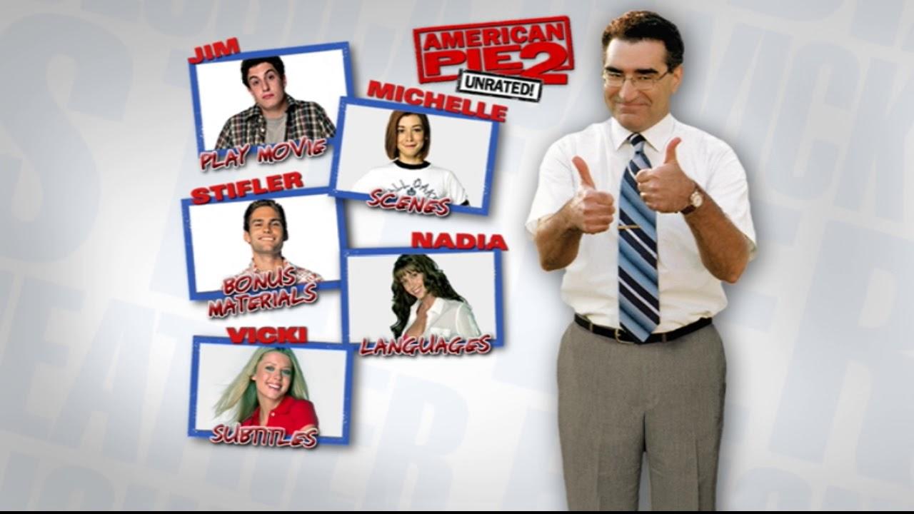 American Pie 2 Español american pie 2 dvd menu
