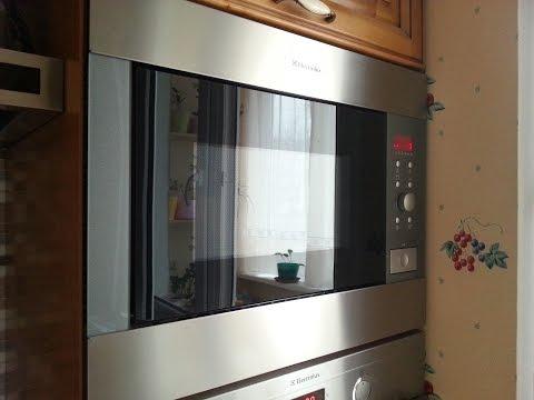 Electrolux Buil In Microwave Ems 26415 X Repair Stuck