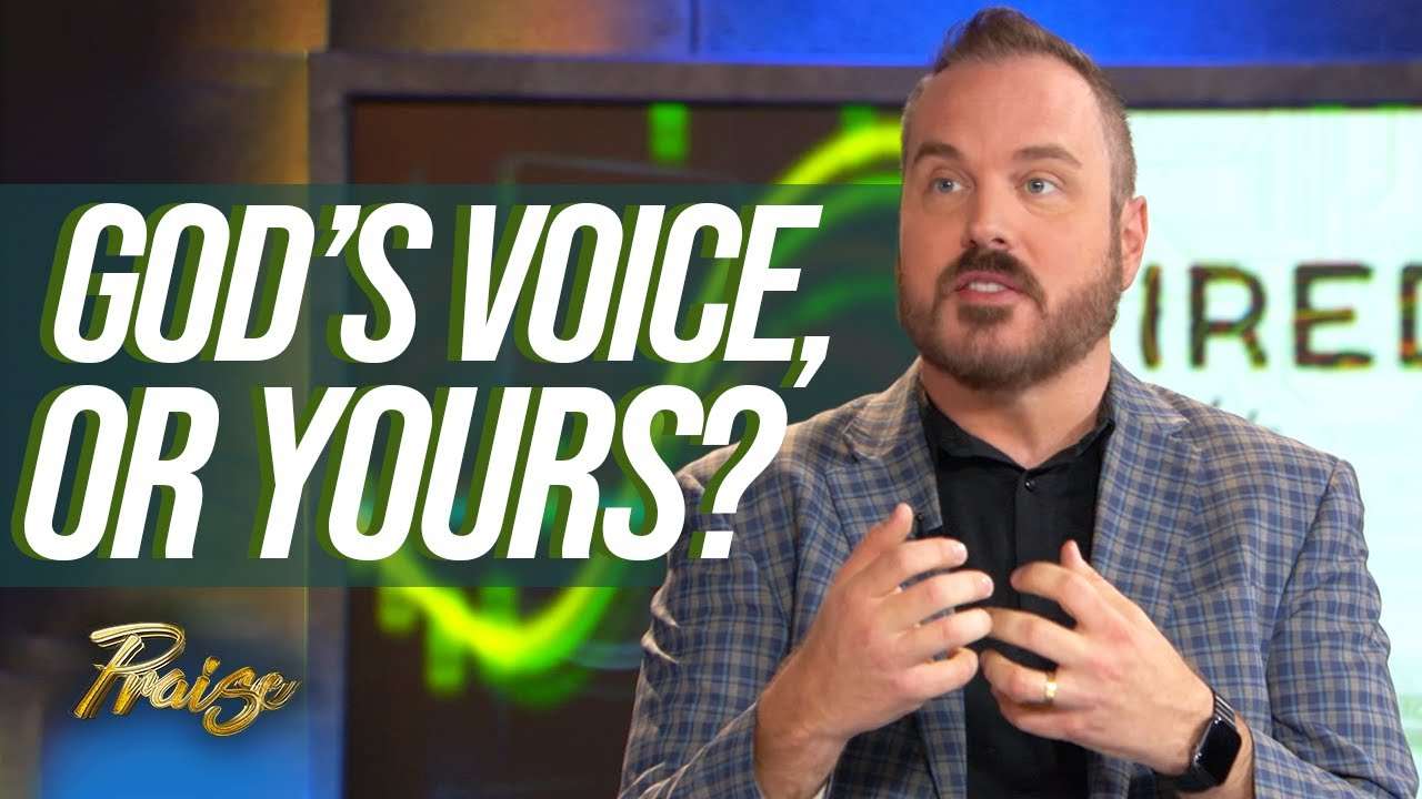 Shawn Bolz & Bob Hasson: Hearing God's Voice or Your Own?   Praise on TBN