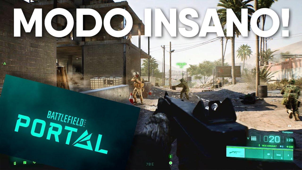 Battlefield Portal - Muito mais que um Remake dentro do BF 2042 (Gameplay)