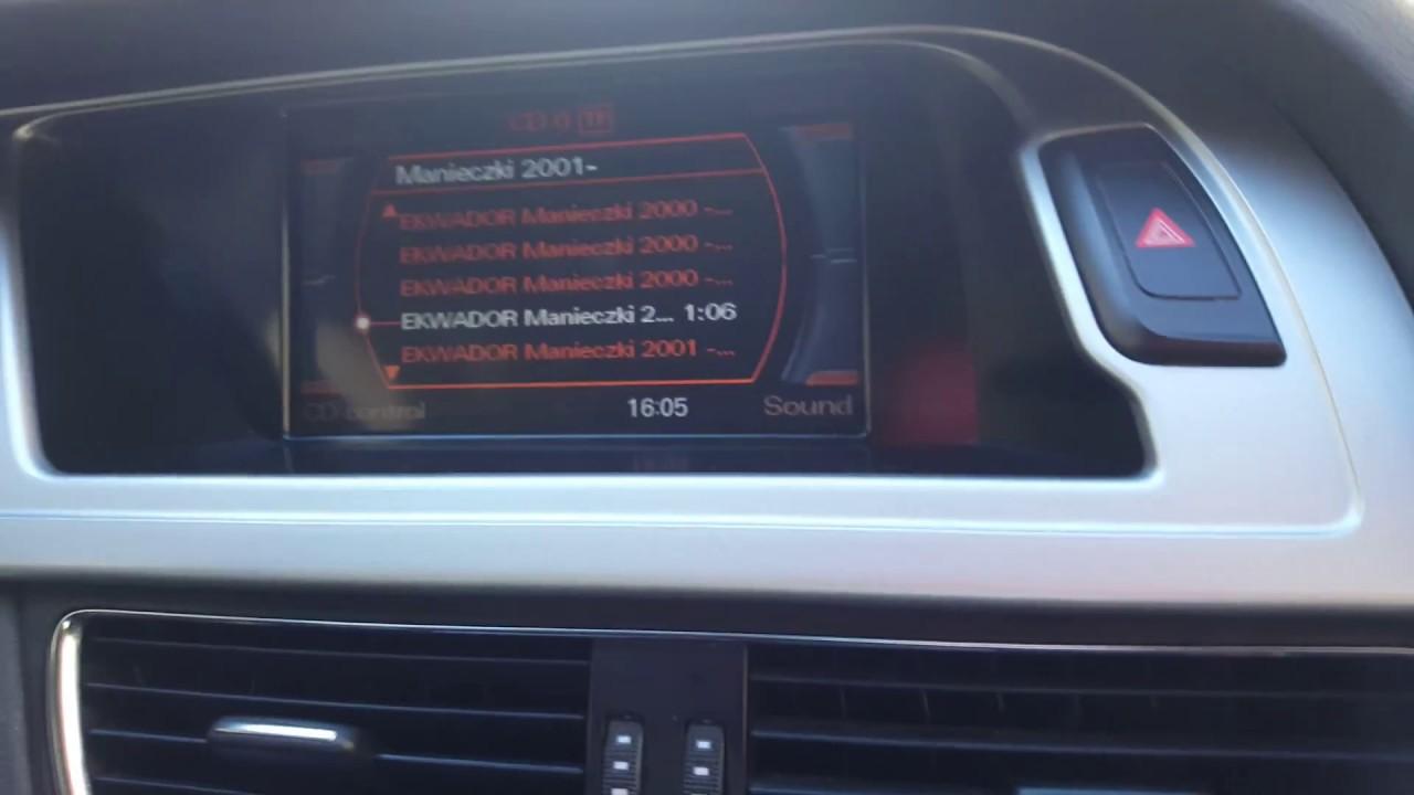 Audi A4 B8 Stock Sound System Youtube