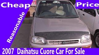 2007 Model Daihatsu Cuore Car For Sale Reasonable Price| Budget Car Review