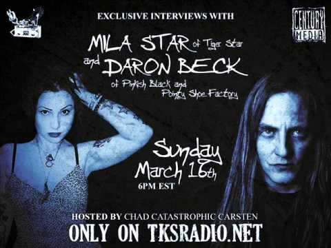 Chad Interviews Daron Beck and Mila Star on TKSRadio