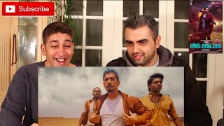Jil Jung Juk Trailer Reaction | Siddharth | Deeraj Vaidy | Vishal Chandrashekhar