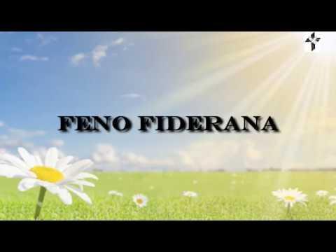 FENO FIDERANA - VETSON-KIRA