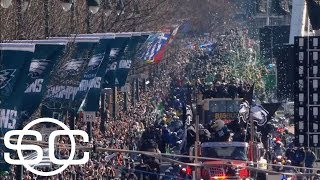 The Super Bowl trophy is home with the Philadelphia Eagles | SportsCenter | ESPN