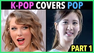 K-POP ARTISTS COVER ENGLISH POP SONGS! (PART 1) - Stafaband