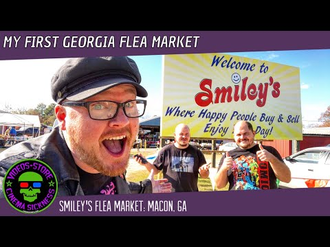 My First Georgia Flea Market | Smiley's Flea Market: Macon, GA