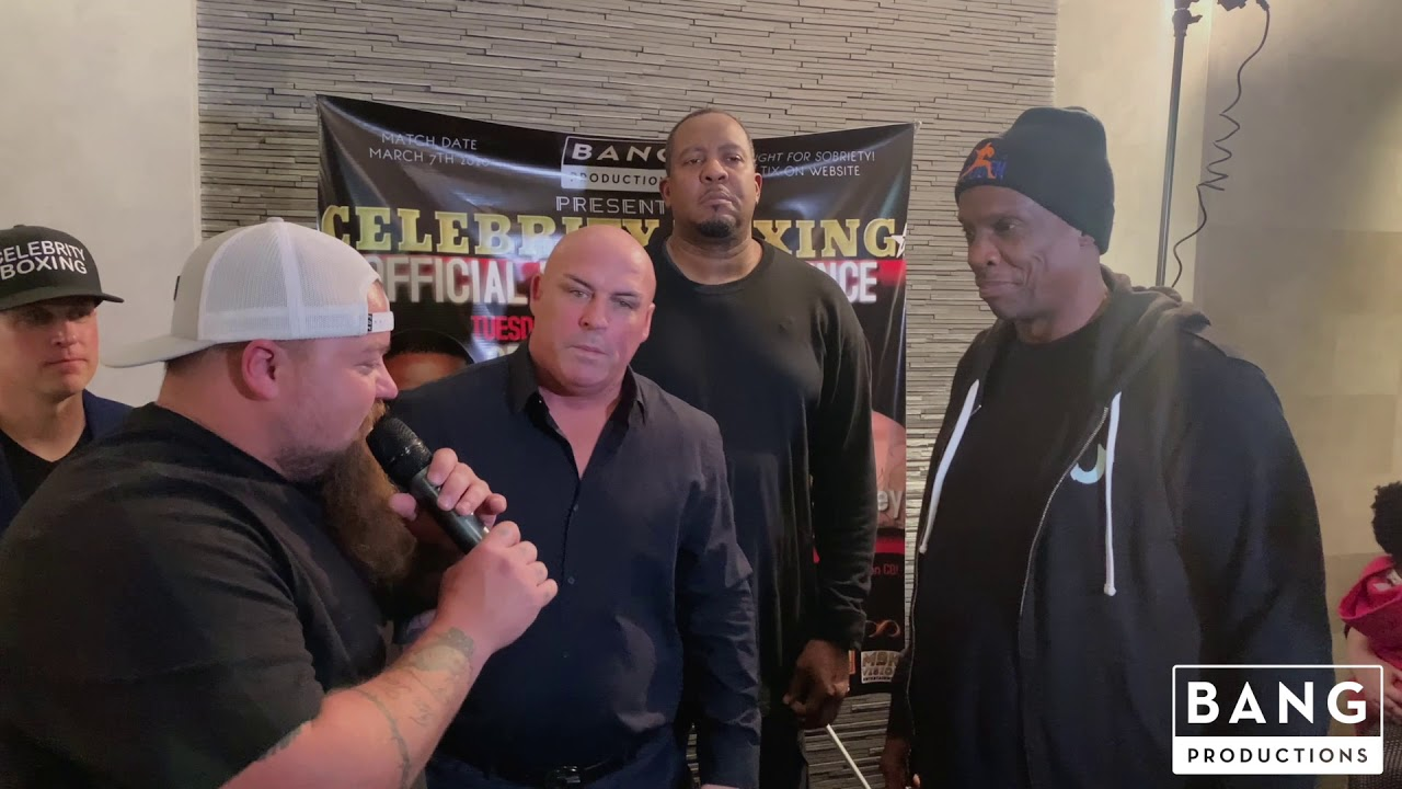 DOC GOODEN ATTACKS  CATFISH COOLEY - BANG PRODUCTIONS PRESENTS CELEBRITY BOXING MARCH 7, 2020