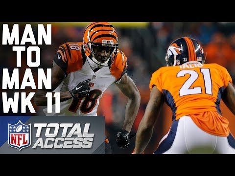 Wide Receiver vs. Cornerback Matchups to Watch in Week 11   Man to Man   Total Access   NFL Network