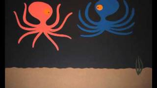 2D Animation - Paper Cut-out - The tale of a lonely octopus