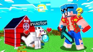 Me CONVIERTO en UN PERRITO y NADIE ME ENCUENTRA 😂 El Escondite en Minecraft