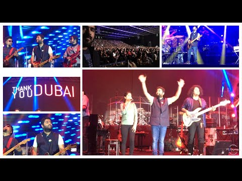 #ARIJIT #SINGH CONCERT IN DUBAI 2019 | IBAD ALI VLOG | 11 JANUARY 2019 | BEST OF ARIJIT SHINGH LIVE