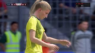 Chili Suède poules coupe du monde féminine 2019 FIFA 19