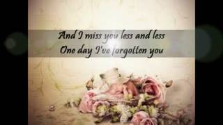 Melissa Horn - Jag saknar dig mindre - I miss you less and less (english lyrics)