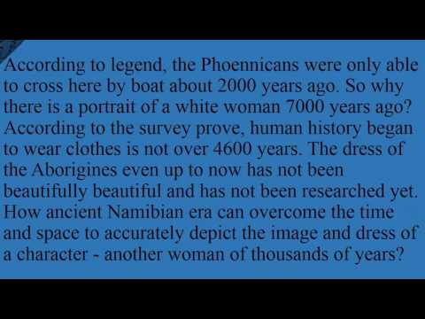 Mystery of white women in Africa 7000 years ago