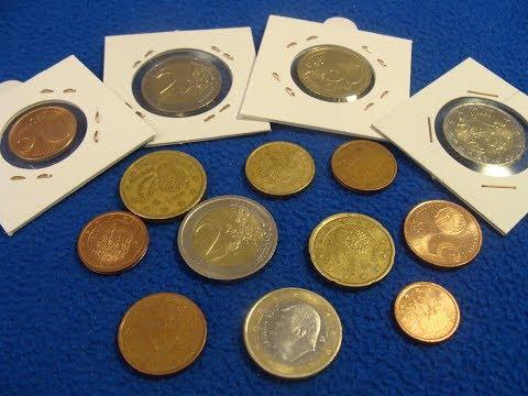 Monedas de Euro Parte 2