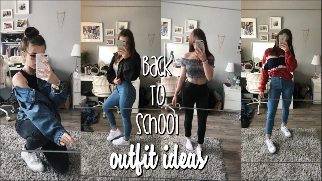 BACK TO SCHOOL OUTFIT IDEAS   Hannah Theresa 1
