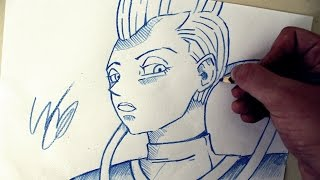 Como Desenhar o Whis [Dragon Ball Super] - (How to Draw Whis) - SLAY DESENHOS #187