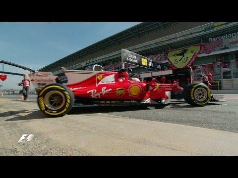 Vettel and Ferrari star | F1 2017 Test Two, Day 3