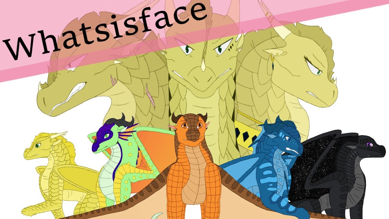 whatsisface wings of fire poster part 1