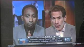 Stephen A. Smith and Skip Bayless Debate where Anthony Davis should end up