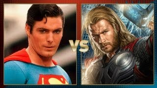Superman Vs Thor: Fanboy Faceoff