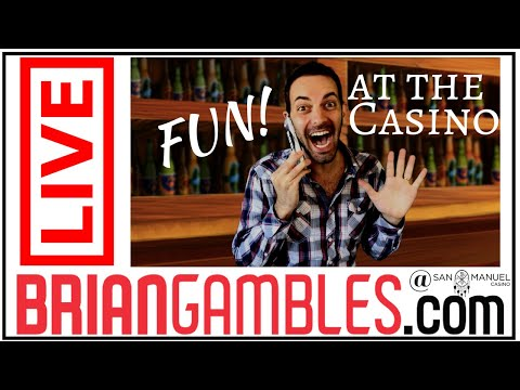🔴LIVE - Slots with Brian Christopher ✦ Celebrating 70,000 Subscribers! ✦ San Manuel Casino #AD