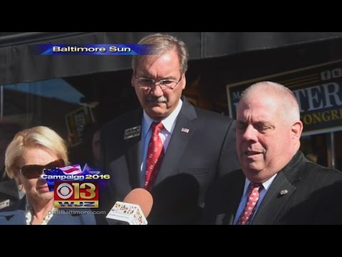 Md. Gov. Hogan Not Voting for Trump, Will Write In Candidate