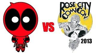 Deadpool vs Tyler Rose City Comic-Con 2013