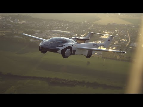 The flying car completes first ever inter-city flight (Official Video)