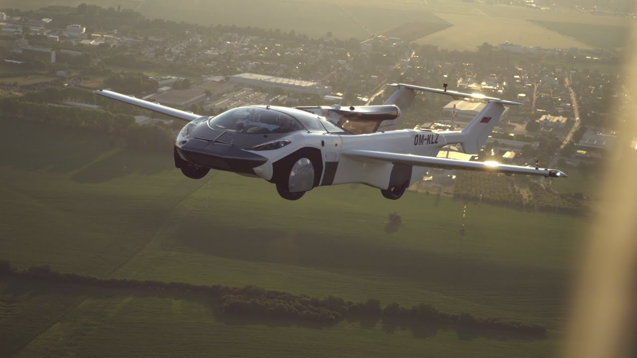 Download The flying car completes first ever inter-city flight (Official Video)