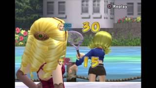 Epic Match with Gloria vs Lola: Hot Shots Tennis [PS2/PS4]