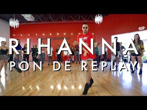Masterclass | Yanis Marshall | Rihanna - Pon De Replay