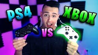 PS4 VS XBOX CONTROLLER... (IN DEPTH COMPARISON)