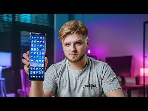 Это самый длинный смартфон –распаковка Xperia 1