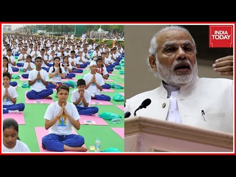 Modi Express Gratitude To UN & Entire World For Embracing Yoga