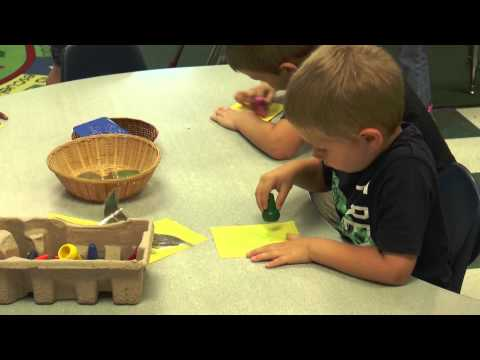 Learning Center for PLT Early Childhood:  Art