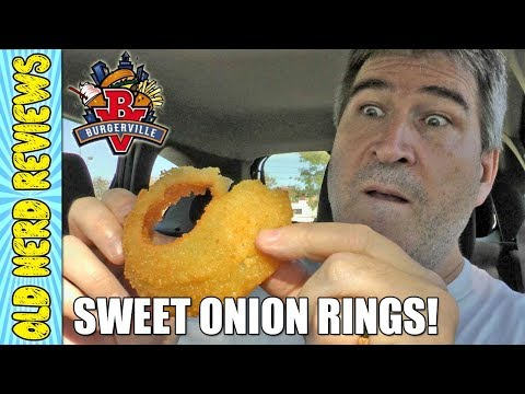 Burgerville Walla Walla Sweet Onion Rings REVIEW