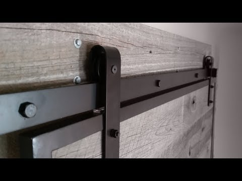 Making A Custom Barn Door Floor Glide