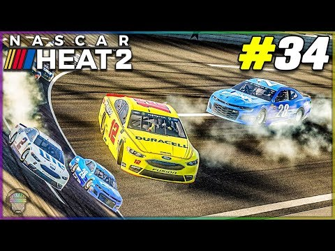 A Wild One at Texas! |#34| NASCAR Heat 2 2018 Championship Mode