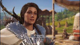 Assassin's Creed Odyssey - Kassandra Gay Kiss #gay