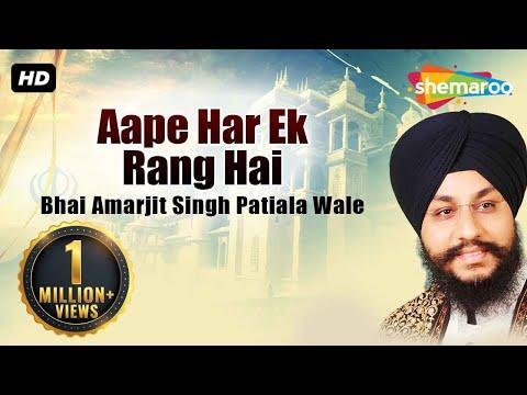 Aape Har Ek Rang Hai - Bhai Amarjit Singh (PatialaWale)- Full Album - Gurbani